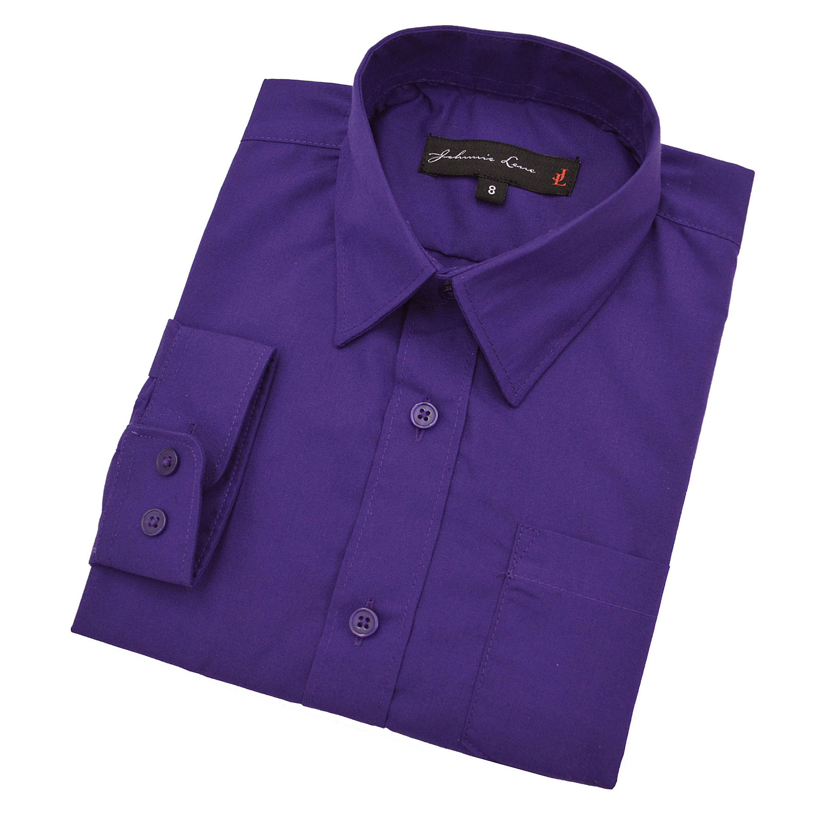 Johnnie Lene Boys Long Sleeve Dress Shirt with Tie and Handkerchief at Sears.com