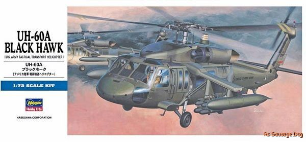 Hasegawa-Helicopter-Model-1-72-UH-60A-Black-Hawk-U-S-Army-D3-Hobby-00433-H0433