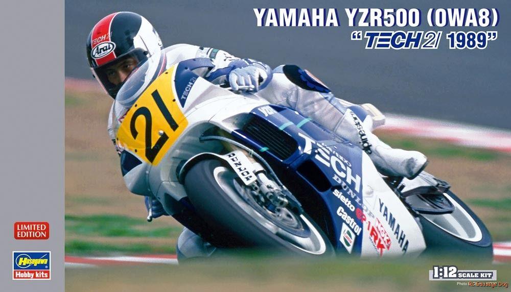 Hasegawa-1-12-Yamaha-YZR500-Tech-21-1989-Limited-Edition-21708-Model-Kit