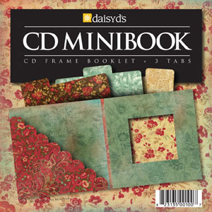 Daisy D's Attic Heirloom CD Mini Books-daisy d's, daisy ds, attic heirloom, cd mini book, scrapbooking, embellishments