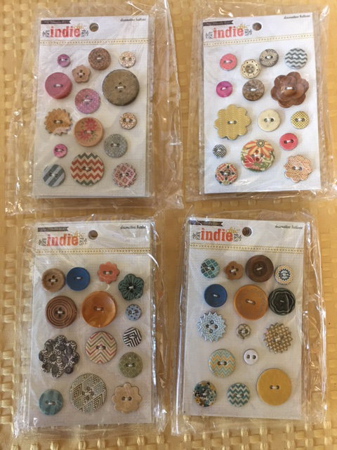 MME Decorative Buttons-