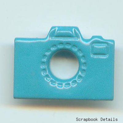 Blue Camera Eyelets (W)-camera eyelets, card making, scrapbooking embellishments