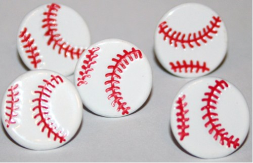 Eyelet Outlet Baseball Brads-eyelet outlet, sports, baseball brads, scrapbooking, embellishments, shaped brads