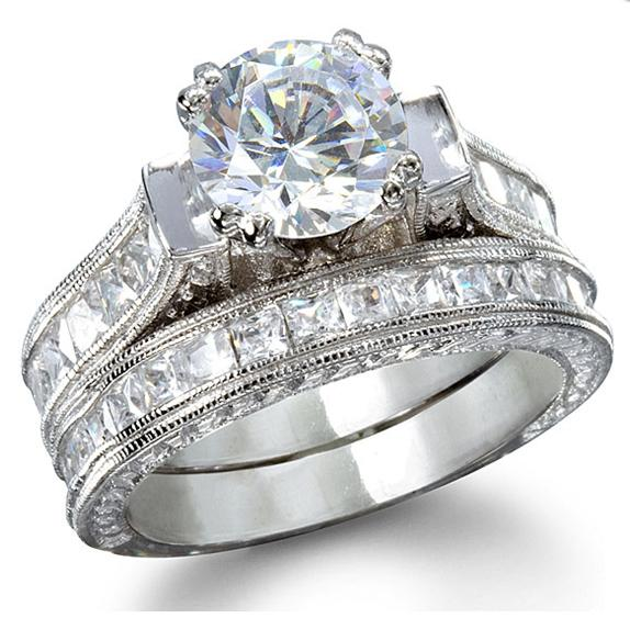 Ladies Diamond Wedding Ring Sets Wedding Rings Pictures Ladies Wedding Ring Sets