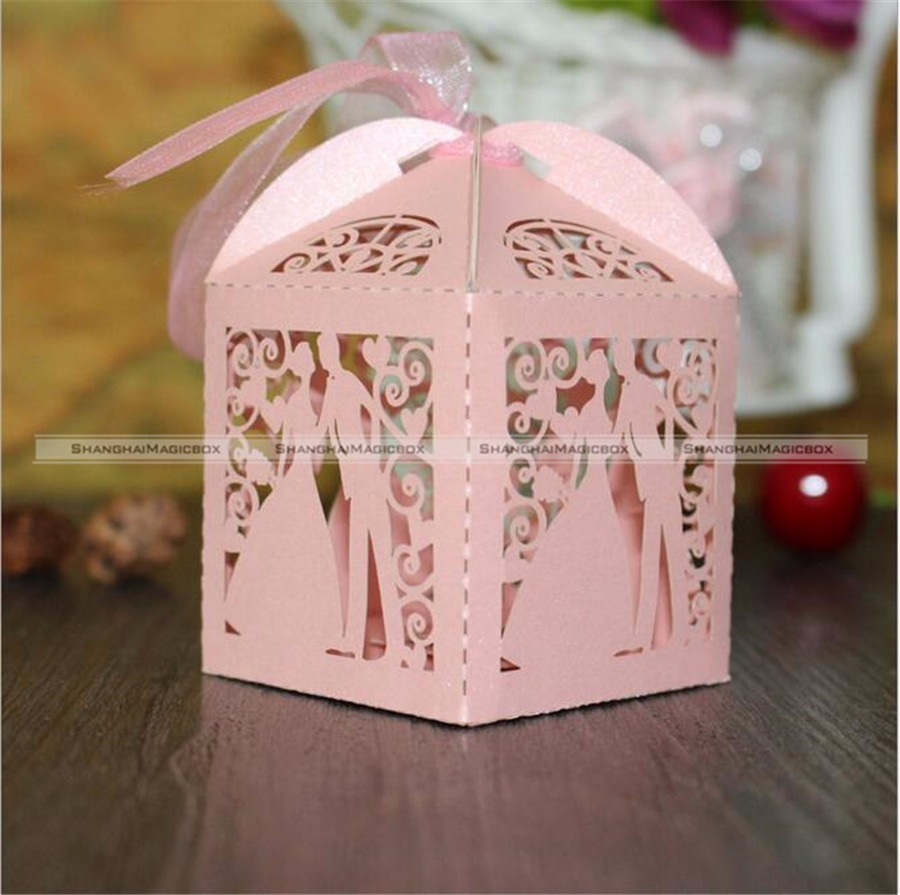 10pcs/set Mini Carriage Princess Wedding Party Favor Ribbon Candy ...