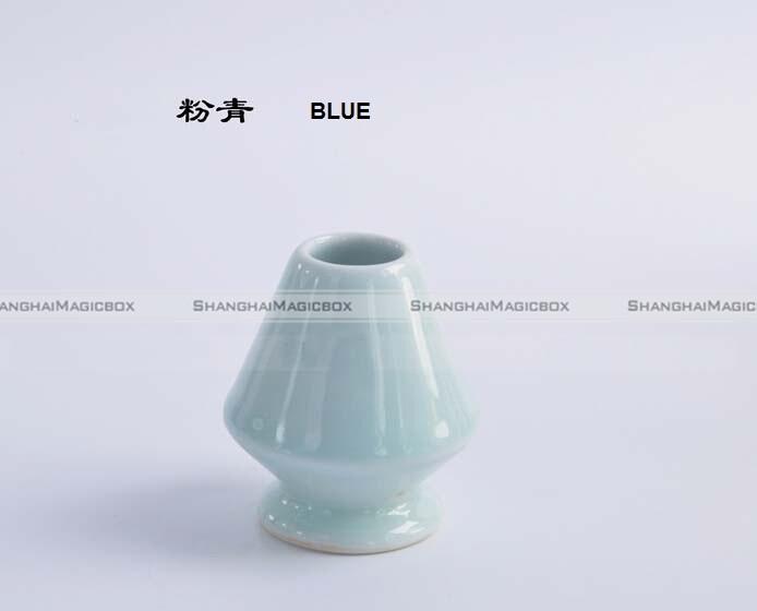 1pc Matcha Whisk Holder Porcelain Green Tea Whisk Stand Chasen Naoshi Ceremonial