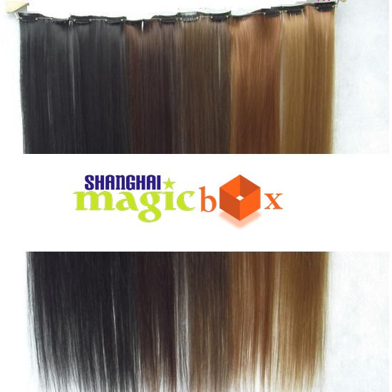Clip-On-Hair-Extension-23-60cm-Long-Straight-New-ShanghaiMagicBox-F0301003