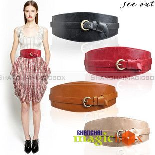 Trendy-Women-Elastic-Stretch-Wide-Waist-Belt-Band-032