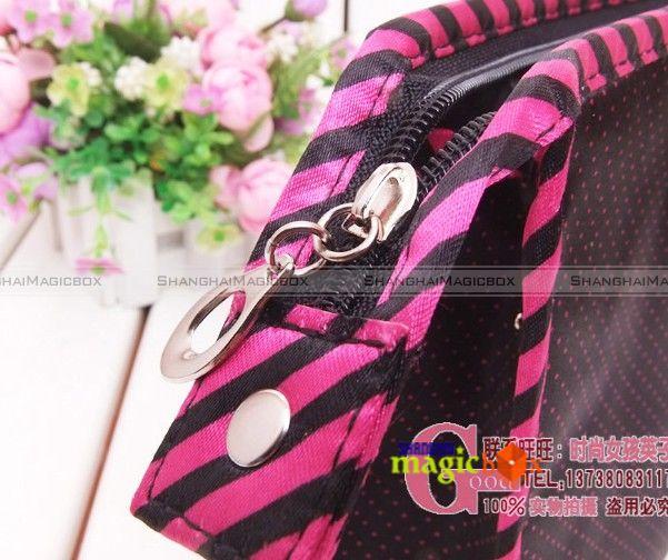 Women Fashion Cute Sweet Large Cosmetic Make Up Storage Bag Case Purse