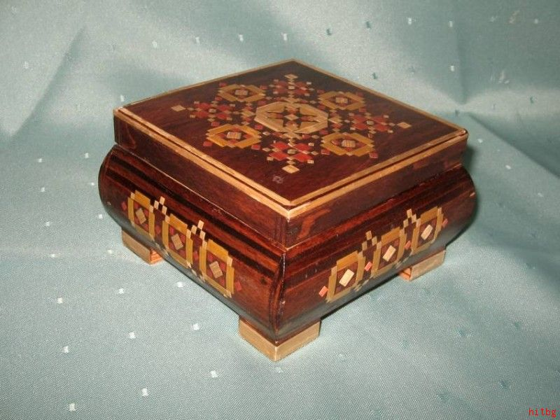 how to make a wooden trinket box