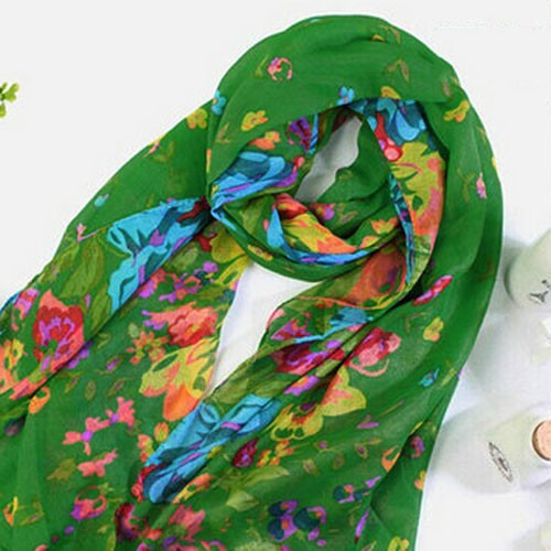 J3348-3360 Wholesale Cotton voile scarf shawl sarong colorful iridescent