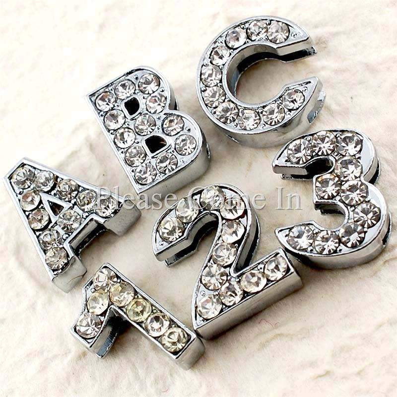 2-Rhinestone-Number-Alphabet-Slider-Beads-of-Your-Choice