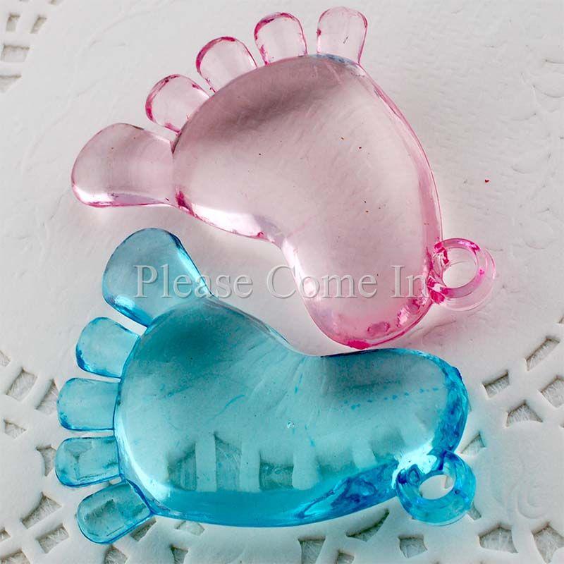 50 Baby Feet Charm Baby Shower Christening Favours Ebay