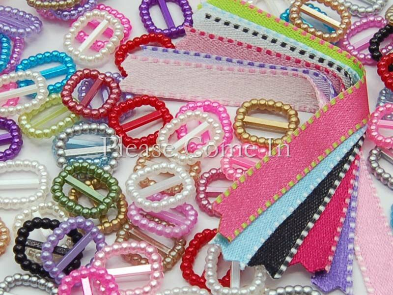 200-Ribbon-Buckle-Slider-Scrapbooking-Stitch-Ribbons
