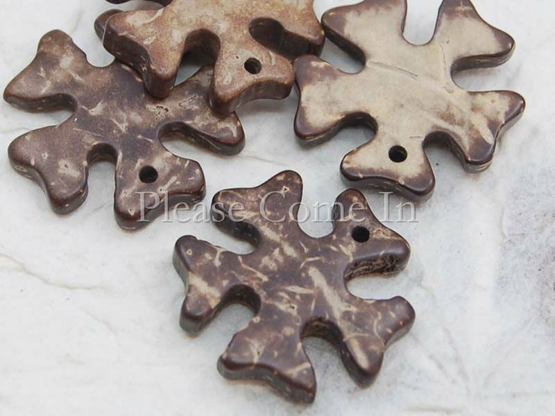 100-Coconut-Shell-Snow-Flake-Button-2-4cm