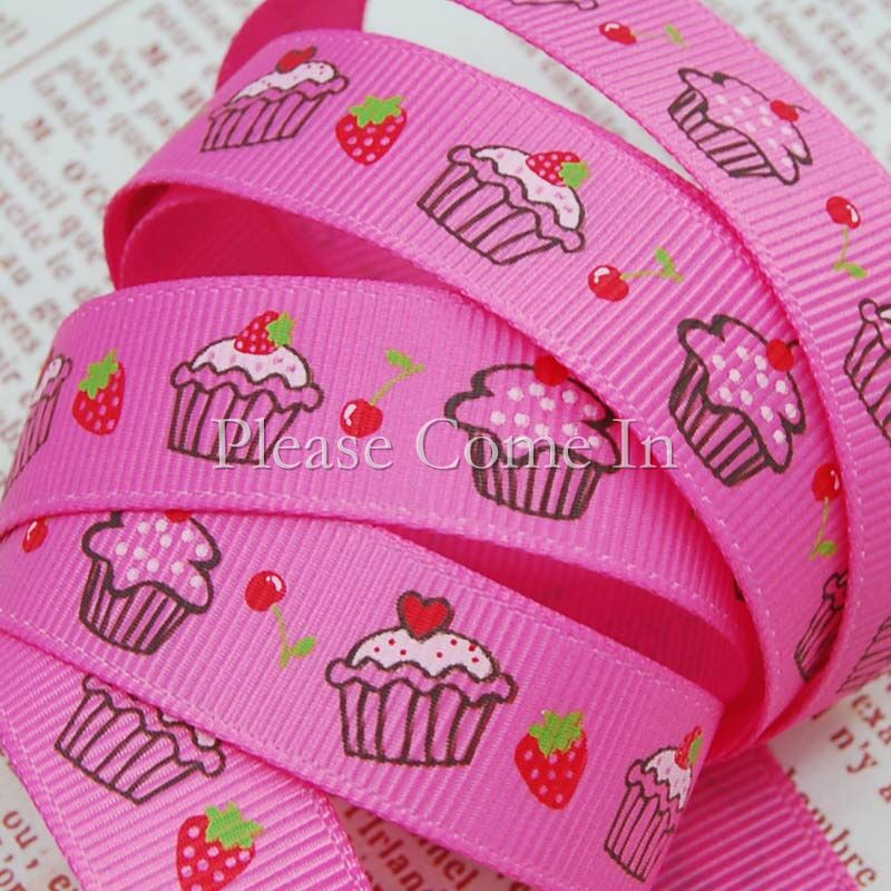 5m-Grosgrain-Ribbon-Hot-Pink-Cupcake-16mm-5-8
