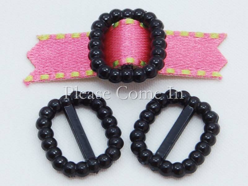 500-Black-Pearl-Buckle-Ribbon-Slider-Wholesale