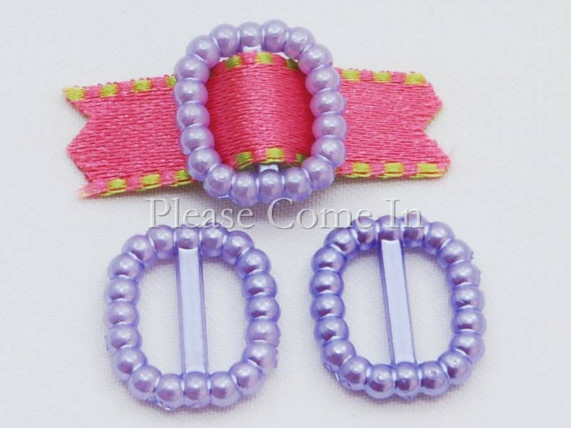 1000-Pearl-Buckle-Ribbon-Slider-Wedding-Invitation-Lavender