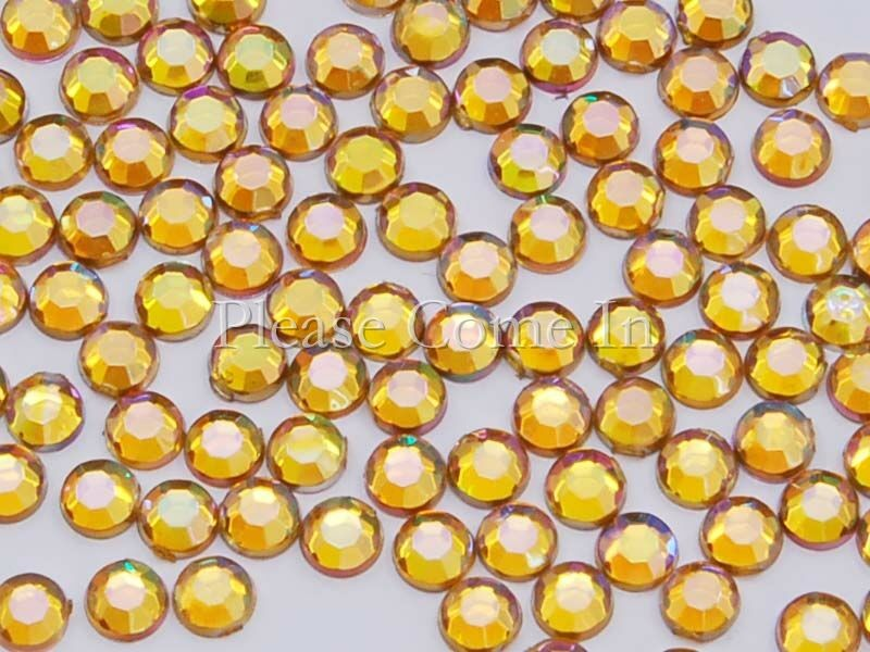 10-000-AB-Maize-3mm-Rhinestones-Scrapbooking-Nail-Art