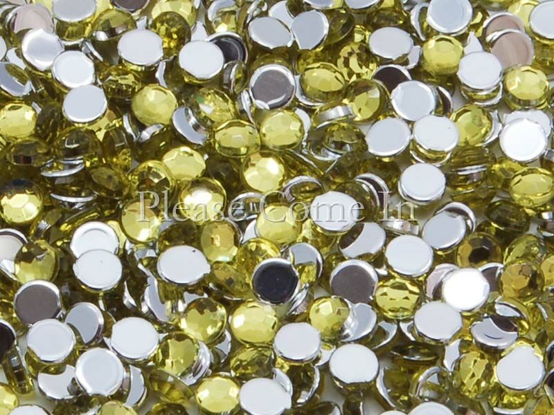 10-000-Lemon-Rhinestone-3mm-Scrapbooking-Nail-Art