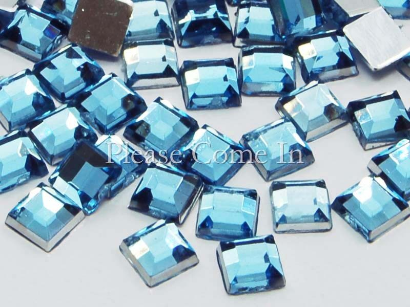 5000-Square-Mosaic-Rhinestone-Wholesale-4mm-Porcelain-Blue
