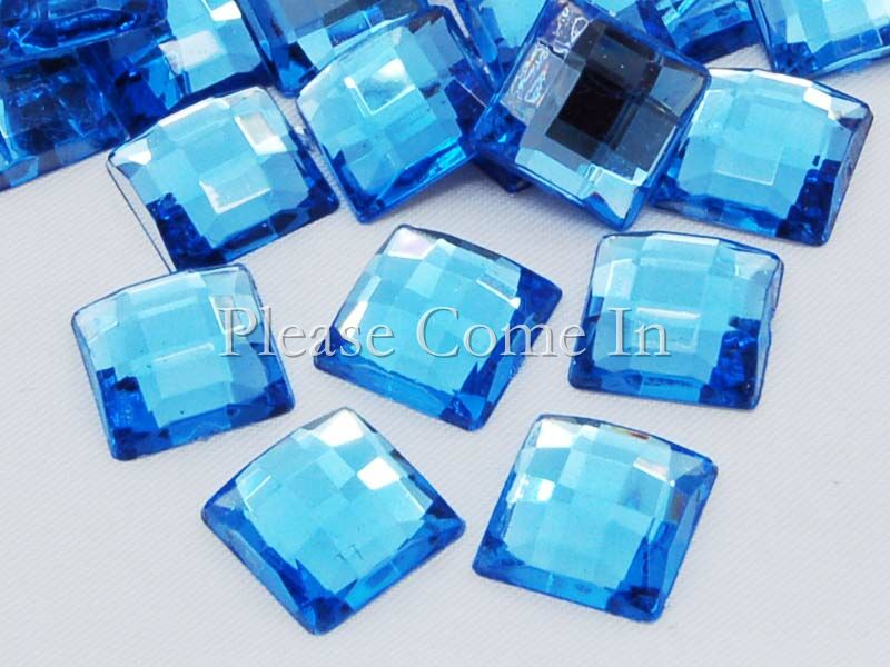100-Square-10mm-Mosaic-Rhinestone-Porcelain-Blue