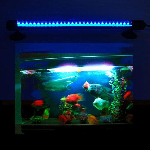 10 6 inch 30 led lighting blue lights bar lamp for for Blue light for fish tank