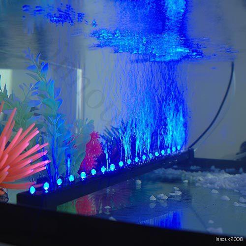 Universal marineland 18 led fish tank aquarium air curtain - Aquarium wand ...