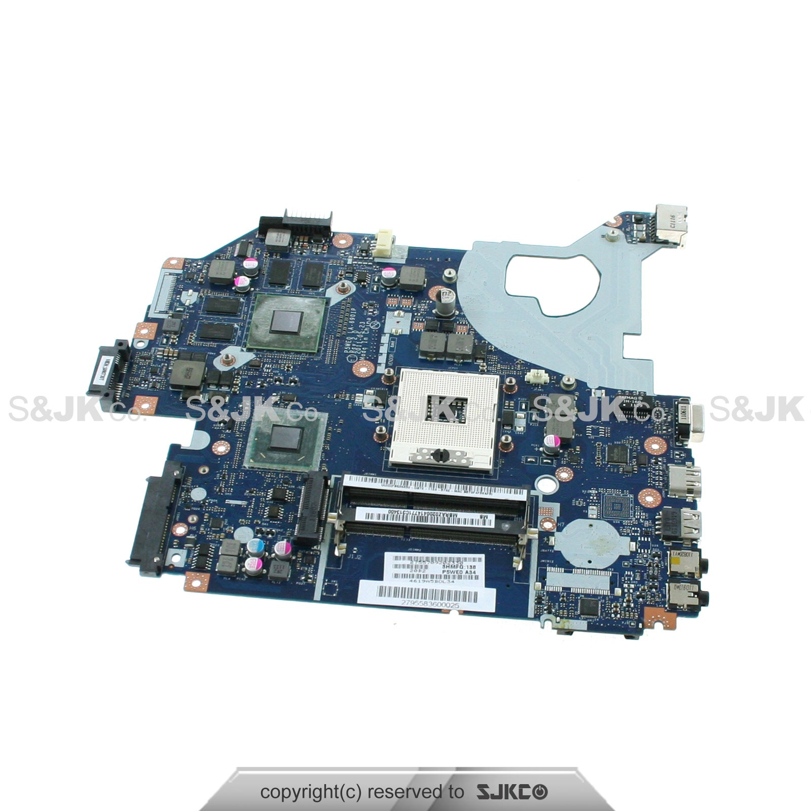 New Acer Aspire 5750g Intel Laptop S989 Motherboard Mb