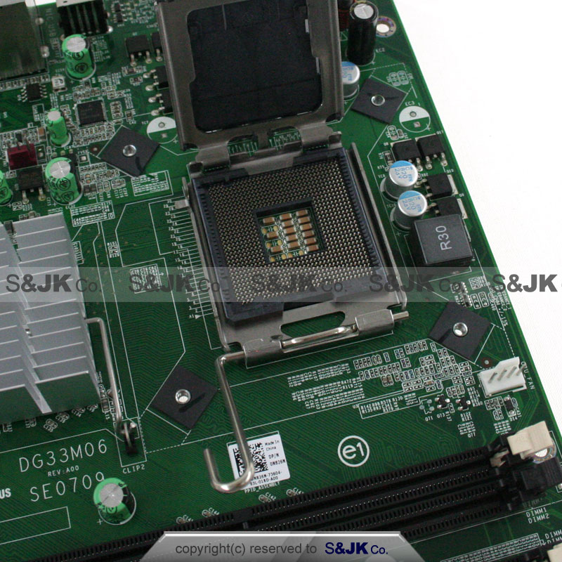 Genuine Dell Inspiron 545 775 Motherboard System Board DG33M06 SE0709