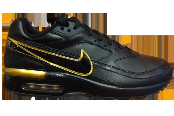 Mens-Nike-Air-Max-BW-Black-Met-Gold-UK-10-12-Style-309210-032-RRP-100