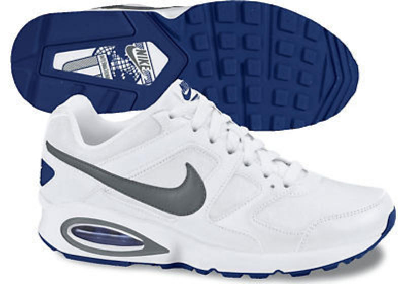 MENS NIKE AIR MAX CHASE TRAINER WHITE UK SIZE 7 TO 11 CODE 472777-102