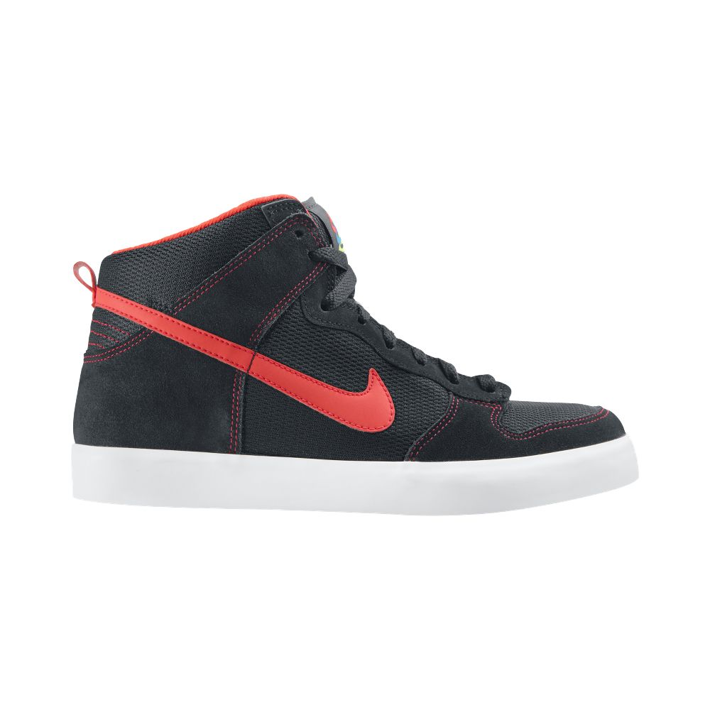 BNIB-Mens-Nike-Mens-Dunk-High-AC-Size-6-11-Basketball-Trainers-Shoes-Black-Red