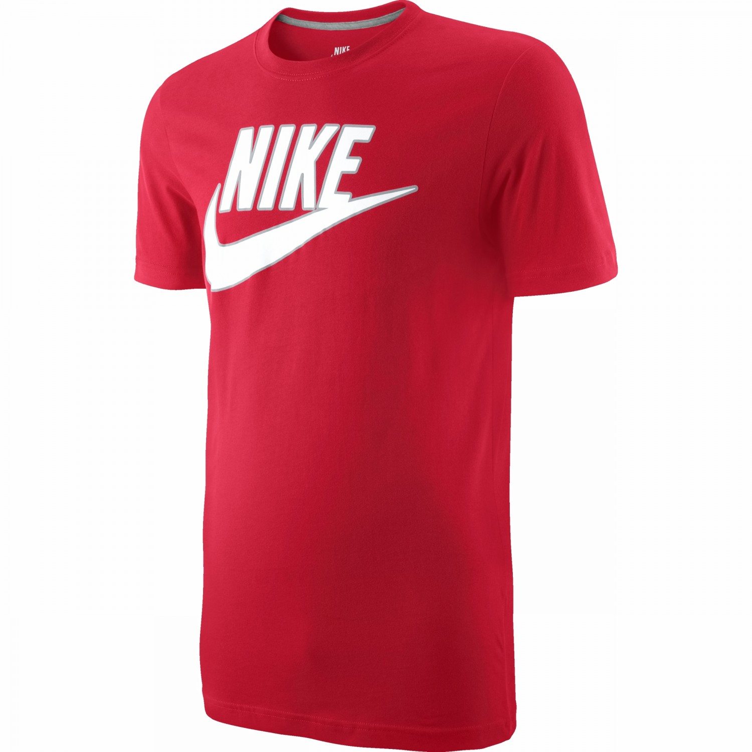 Mens Nike T Shirt Sptcas Spt Lsr Red Uk Size S M L Code