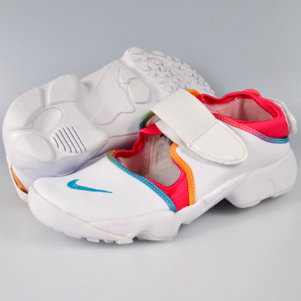 Image is loading BNIB-Boys-Girls-Nike-Air-Rift-Size-3-