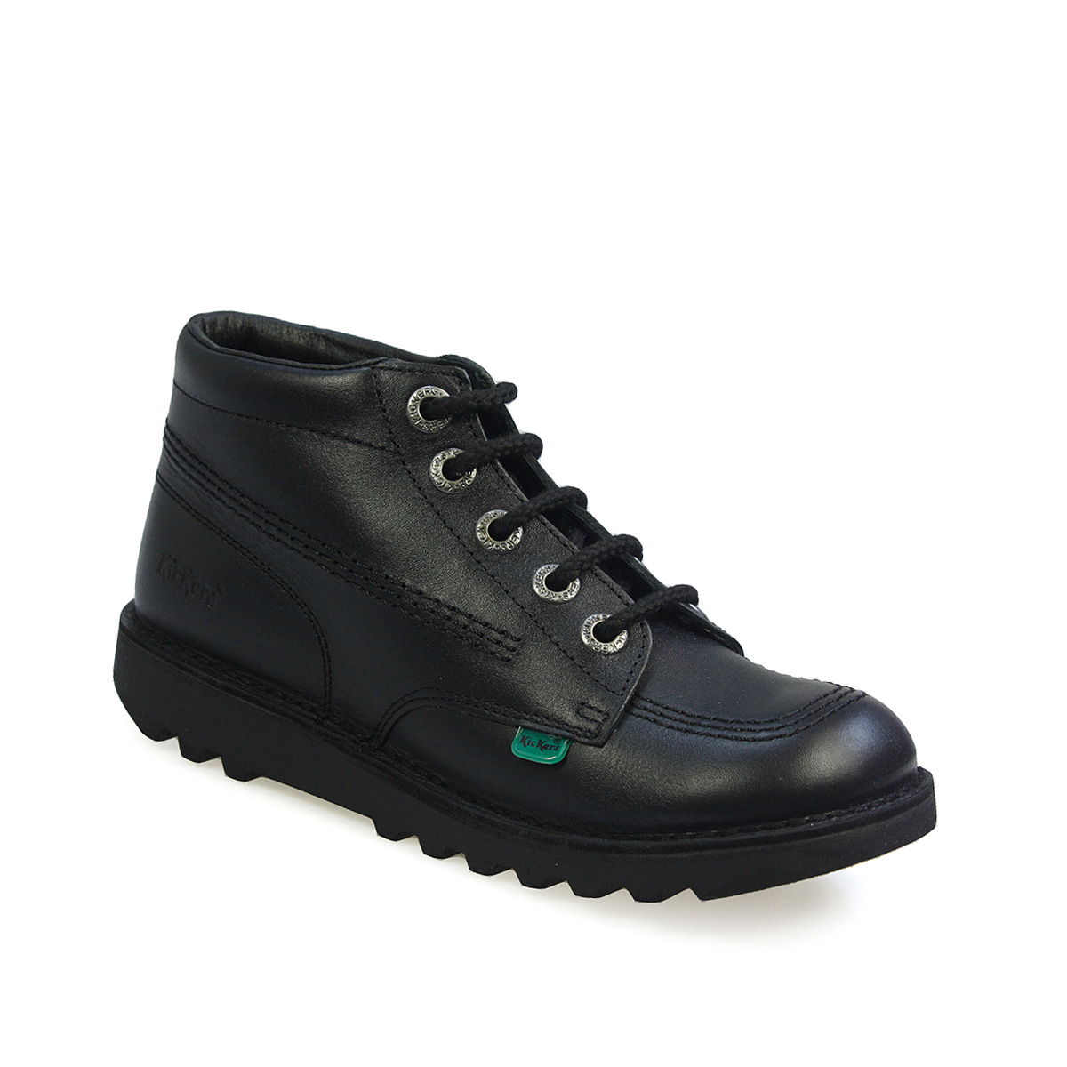 kickers kick hi core black youth unisex back to school