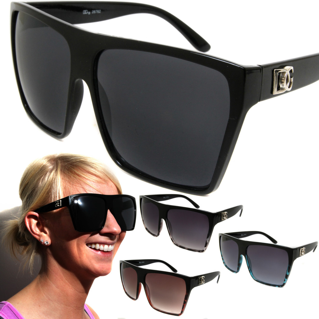 Womens-DG-Oversized-Square-Lens-Fashion-Sunglasses-Designer-Style-Shades