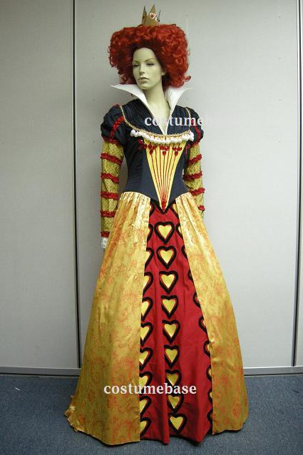 red queen alice in wonderland outfit