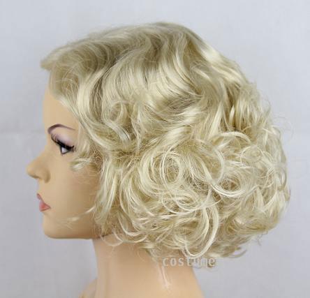 Marilyn Monroe Deluxe Short Bombshell Costume Party Wig