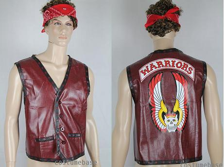The-Warriors-VEST-WAISTCOAT-Mezco-Furies-Party-Costume