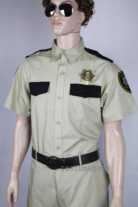 reno 911 costume lt dangle men police cop halloween new ebay. Black Bedroom Furniture Sets. Home Design Ideas