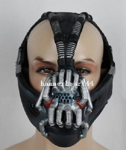 Bane Mask for Sale http://www.ebay.com/itm/BANE-MASK-tom-hardy-tdkr-halloween-costume-/140852482979