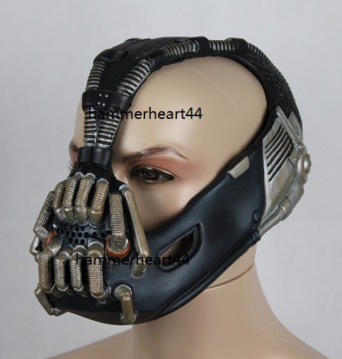 Bane Mask for Sale http://www.ebay.com/itm/BANE-DELUXE-FULL-Costume-Set-TDKR-Halloween-jacket-vest-pants-glove-coat-mask-/150906265589