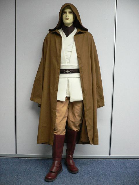 OBI-WAN-Full-Costume-Tunic-Belt-Robe-star-wars-Jedi-NEW