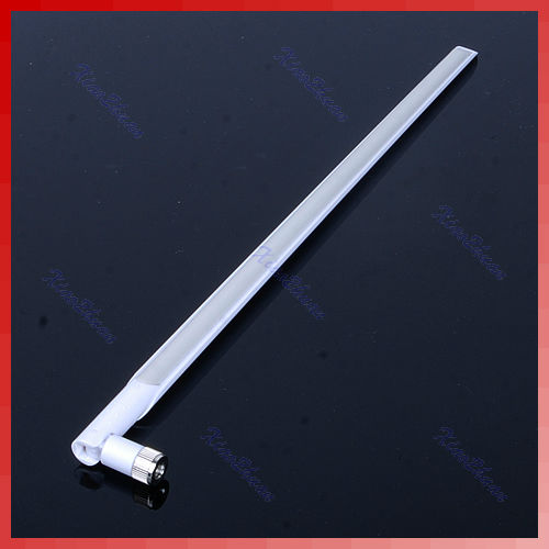 White Gray 11dbi 2.4G Wireless WIFI Network Booster Router Antenna New