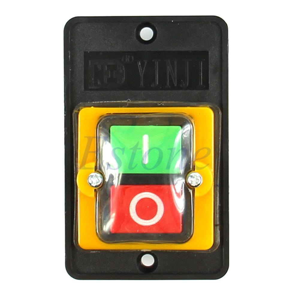 push button machine switch
