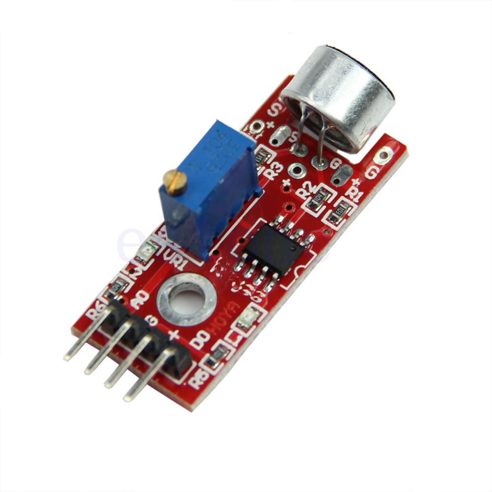Microphone sensor high sensitivity sound detection module