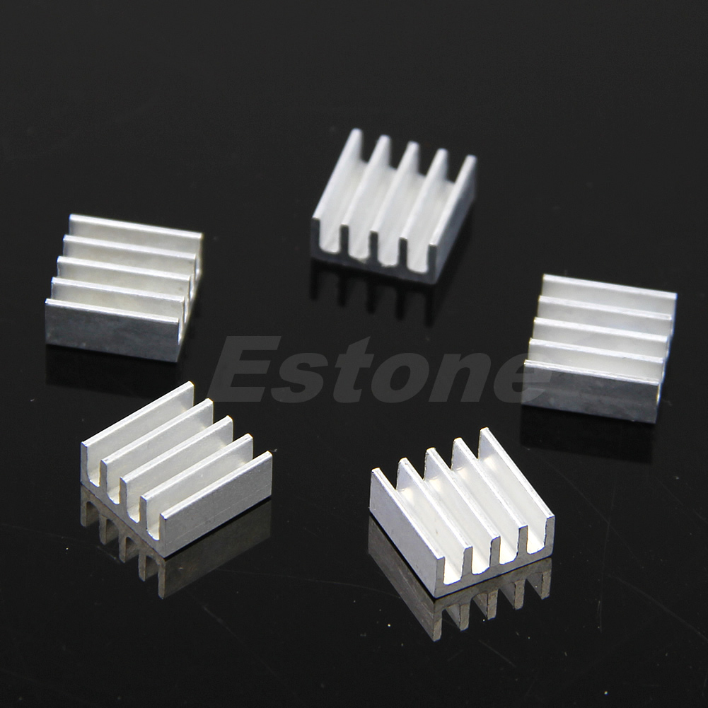 New-20pcs-Aluminum-Heat-Sink-For-Memory-Chip-IC-3-Sizes