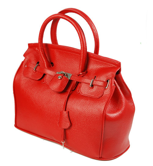 Elegant-Style-Women-Lady-Celebrity-PU-Leather-Tote-Handbag-Lock-Shoulder-bag thumbnail 5
