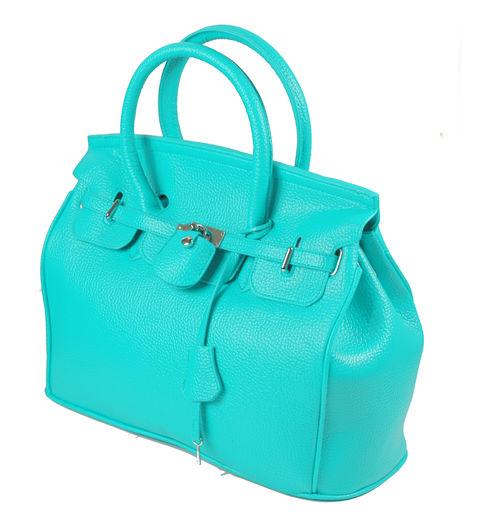 Elegant-Style-Women-Lady-Celebrity-PU-Leather-Tote-Handbag-Lock-Shoulder-bag thumbnail 6